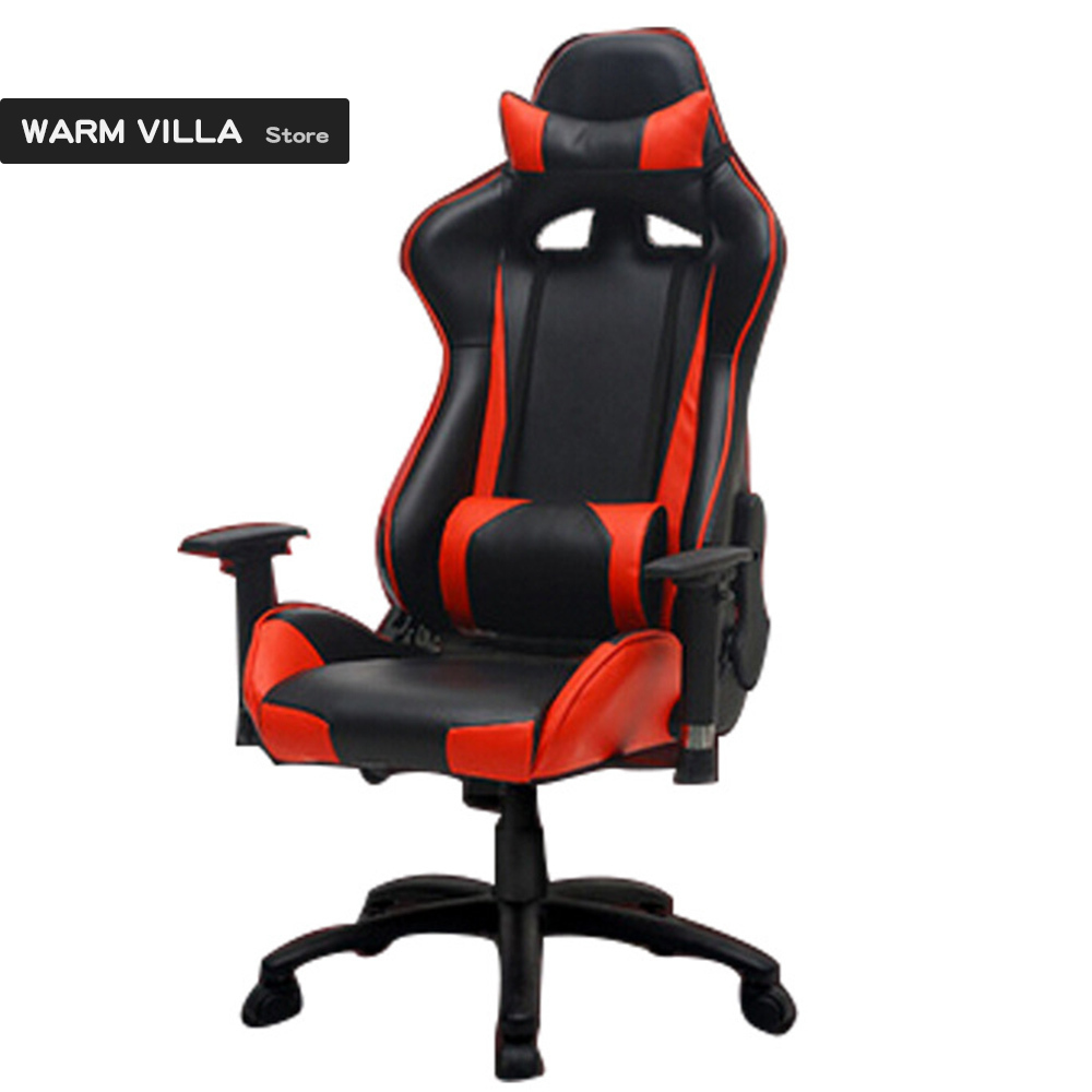 Chairs Comfortable Us 70 34 European European Plastic Gaming Artificial Study Customized Comfortable Lift Game Computer Chair In Office Chairs From Furniture On
