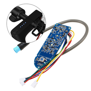 Image 1 - Scooter Dashboard Battery Indicator Switch Panel Circuit Board for M365 Electric Scooter Electric Bicycle Controller