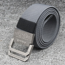 Fashion good quality elastic  Unisex Plain Webbing Waist Belt Waistband Canvas