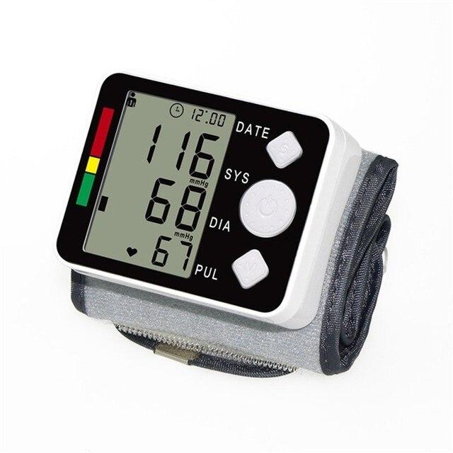 YONGNUO Digital Esfigmomanometro presión tonómetro de Tensiometro inteligente muñeca Digital medidor de presión arterial