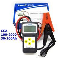 1PC MICRO 200 Car Battery Tester 12V Aumotive Vehicle NEW Car Battery Tester Auto Battery Measurement Unit Multi language