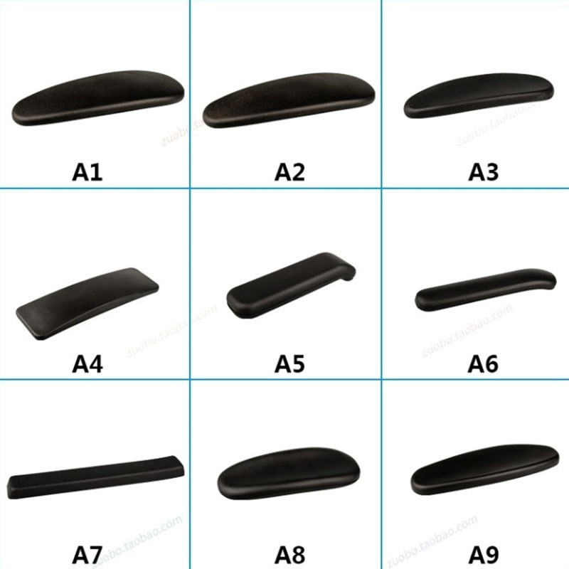 Handrail Computer To Work In An Office Chair Parts Currency Hold Hand Face Pu Softness Handle Pad Panel Parts Durable Chair