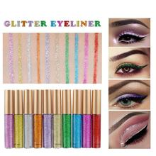 Multifunctional Dazzling Glitter Liquid Eyeliner Eyeshadow Makeup Accessories For Woman