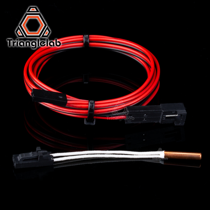 Trianglelab ATC Semitec 104GT-2 104NT-4-R025H42G Thermistor Cartridge High Temperature 280℃ For E3D V6 Volcano Heater Block