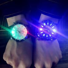 LinTimes Men/Women Students Lovers Watch Fashionable LED Lum