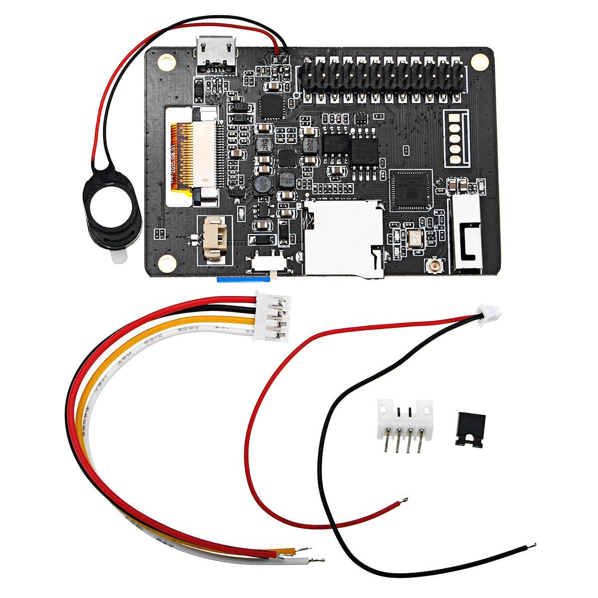 T5 v1.0 Wifi + bluetooth Base ESP-32 ESP32 1.54 ePaper Développement carte son