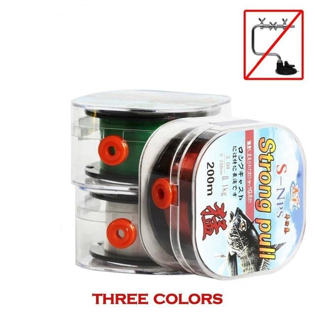 Super 100% Original Fishing Line Fluorocarbon Coating Strong Fishing Lines cb5feb1b7314637725a2e7: coffee|Green|White