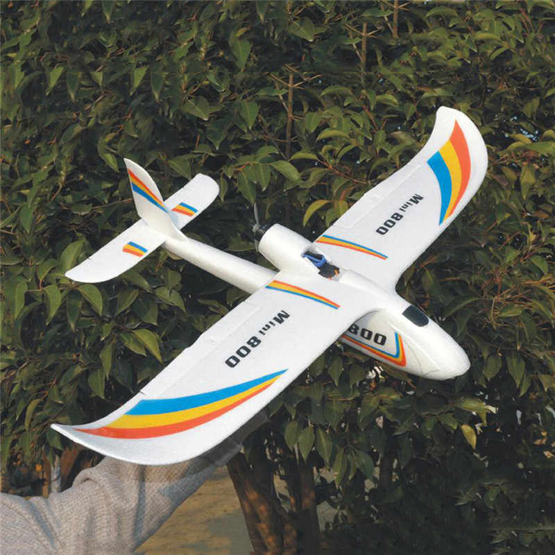 Upgrade 2019 Mini Surfer 800 800mm Wingspan EPP Aircraft Gliders RC Airplane PNP For Kids Gifts Outdoor RC Models Toys