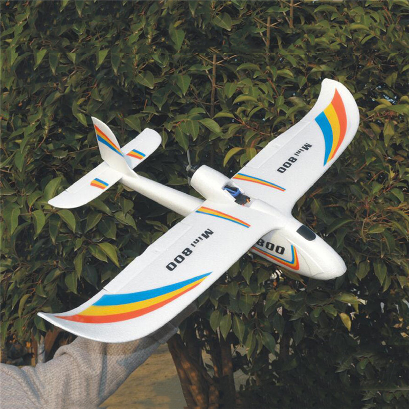 Upgrade 2019 Mini Surfer 800 800mm Wingspan EPP Aircraft Gliders RC Airplane PNP For Kids Gifts Outdoor RC Models Toys image