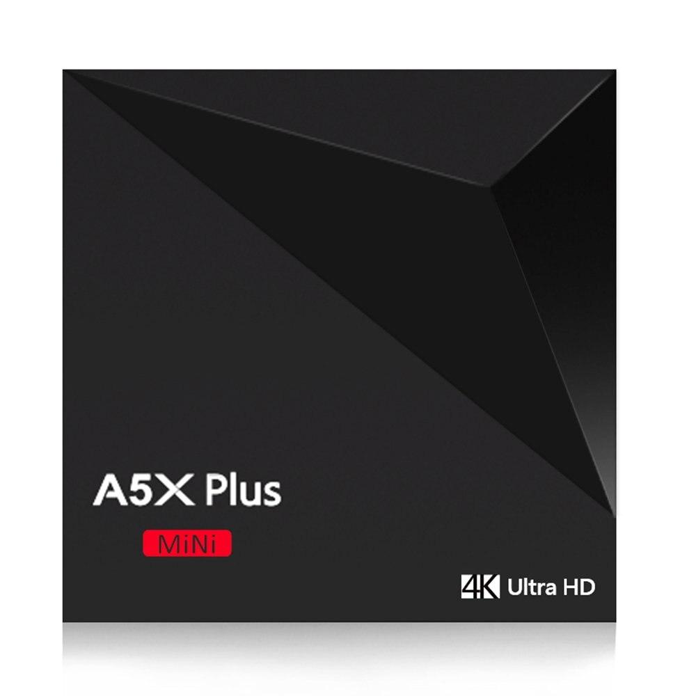 A5X Plus Mini Smart Android 8.1 Tv Box Rk3328 Quad Core 4K Vp9 H.265 Hdr10 Usb3.0 2G/16G Mini Pc Dlna Wifi Lan Hd Media PlayerA5X Plus Mini Smart Android 8.1 Tv Box Rk3328 Quad Core 4K Vp9 H.265 Hdr10 Usb3.0 2G/16G Mini Pc Dlna Wifi Lan Hd Media Player