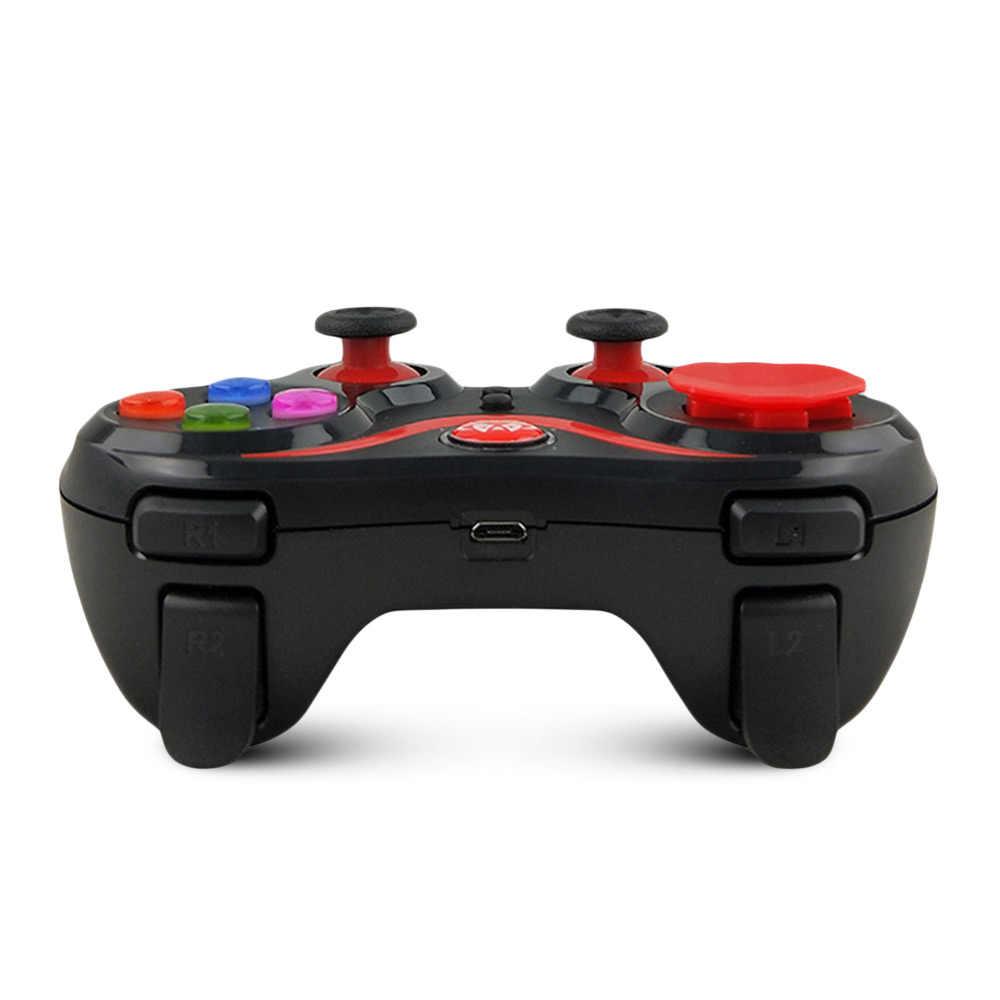 Унив. игровой S5 усовершенствованная версия беспроводной игровой контроллер геймпад с держателем для Windows PC/iOS Android смартфон/планшет/ТВ коробка
