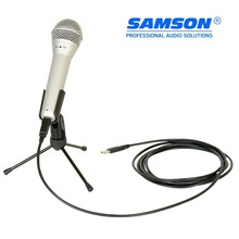 100% original Samson Q1U Dynamic Handheld Mic with USB Vocal Instrument Hypercardioid Microphone For Stage Performance