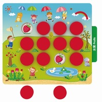 2 IN 1 Memory Game And Ludo Game Parent child Interaction Toys For Children Family Game Interactive Game Flying Chess