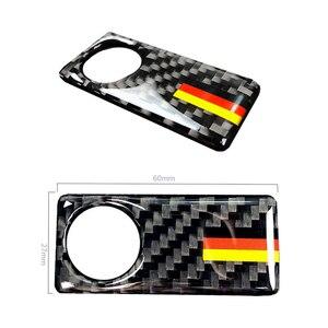 Image 3 - Dla Mercedes Benz C klasa W205 C180 C200 C300 GLC260 z włókna węglowego samochodu pasażera boczne rękawice przechowywania uchwyt skrzyni pokrywa misy