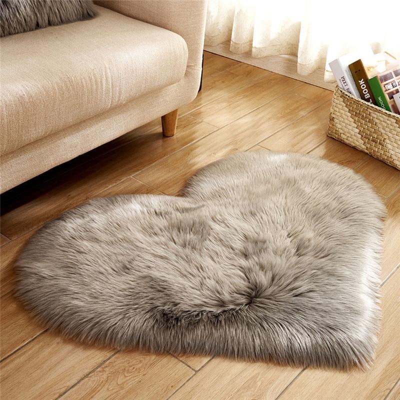 Clever Plush Round Shape Carpet Throw Rug Anti-skid Shaggy Area Rug Soft Floor Mat House Living Room Bedroom Carpet Floor Rug Batteries