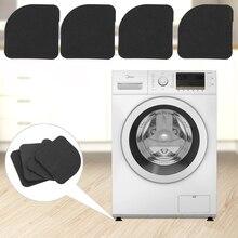 4 шт./компл. ударопрочность стиральная машина Антивибрационная панель выдвижной ящик полка для коврик-вкладыш для ноги мебели холодильник в виде шкафа