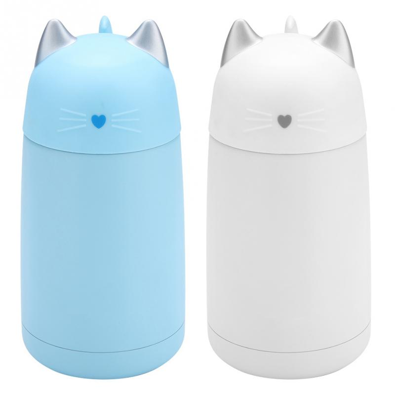 Cup Water Bottle For Thermos Mug In Steel Cute Cat Kids 51Off 330ml Stainless Us8 05 Travel Vacuum Flasksamp; Thermal jLUzVpSqGM
