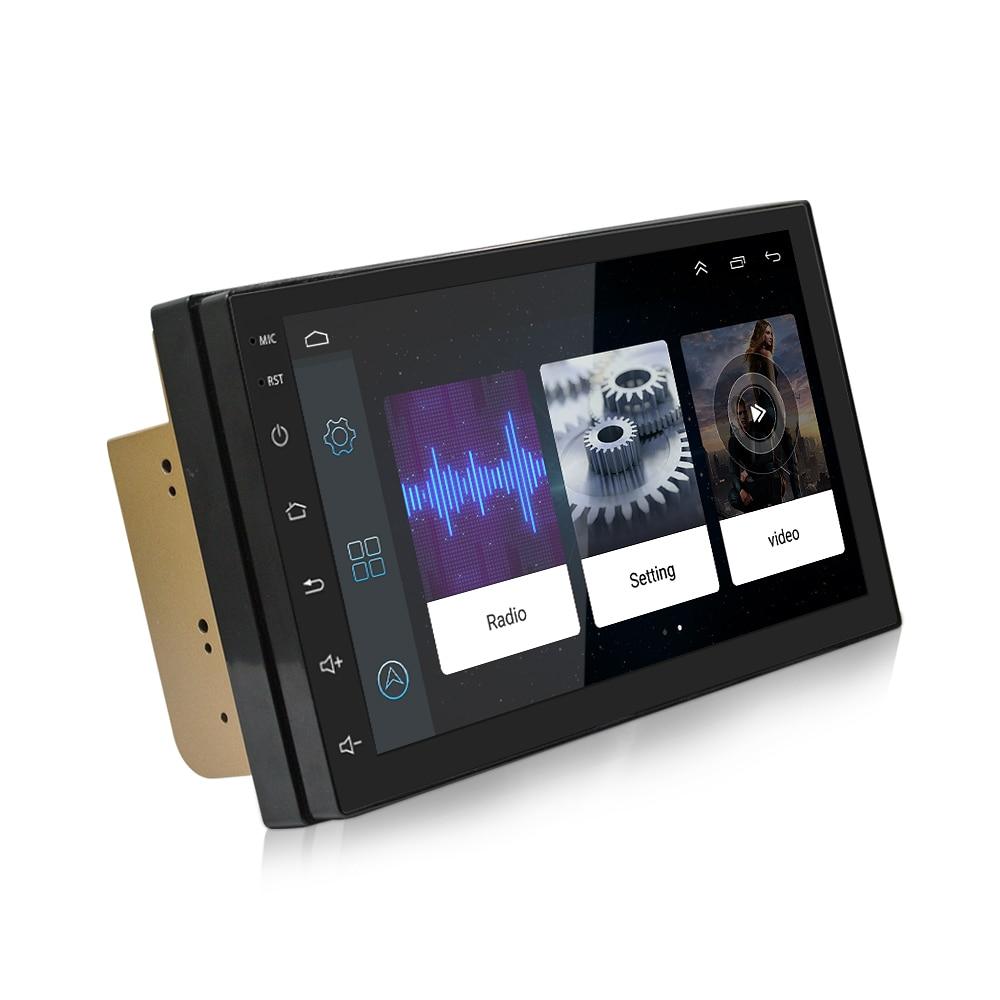 Autoradio voiture GPS Navigation bluetooth USB lecteur Android 6.0 voiture accessoire lecteur Mp3 voiture médias 7 pouces HD écran WIFI