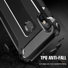 Armor Phone Case For Xiaomi Redmi Note 7 6 6pro Note 5 Shockproof Case Cover For Xiaomi Mi A1 A2 Redmi 6A Bumpers Funda Coque все цены