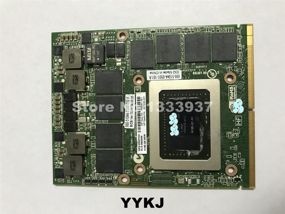 N12E-Q1-A1 Q3000M Q3000 Graphics Card For DELL M6600 M6700 For HP 8760W <font><b>8770W</b></font> 8740W Video Card GPU Replacement Tested Working image