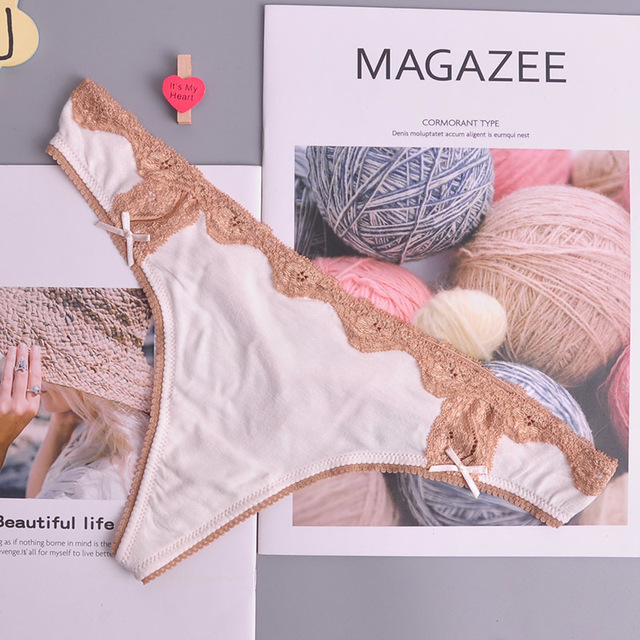 ONE SIZE adjusted Sexy cozy  Lace Briefs g thongs Underwear