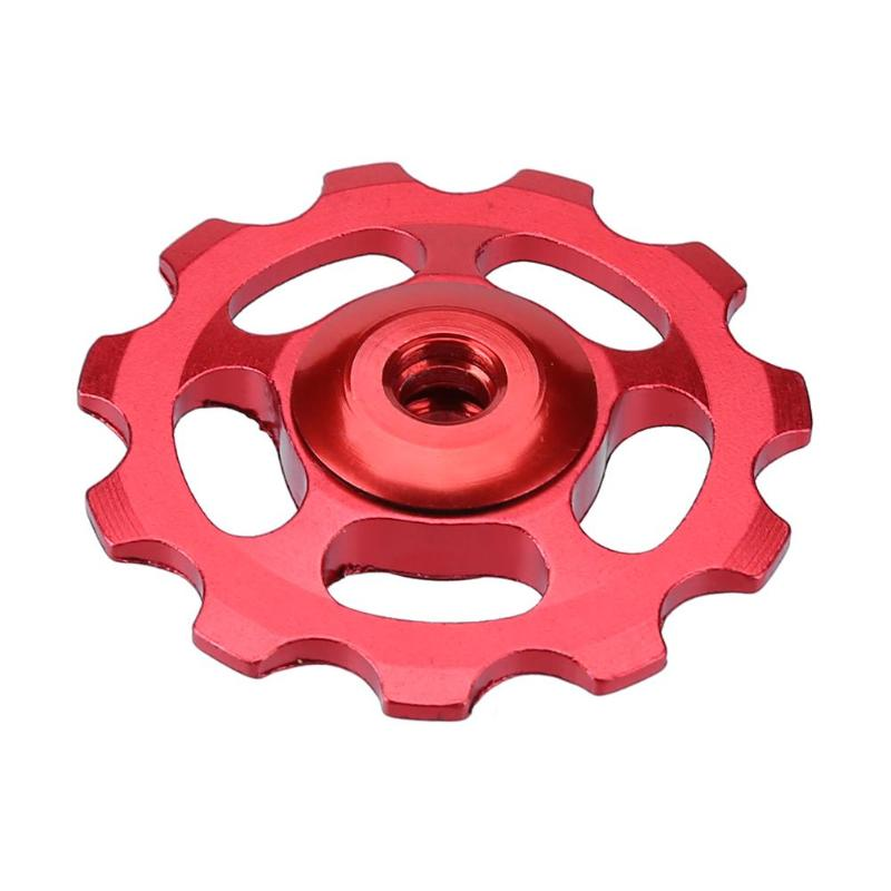 Red TRiPEAK Super Ceramic 11T Pulley Set for SHIMANO 11 SPEED