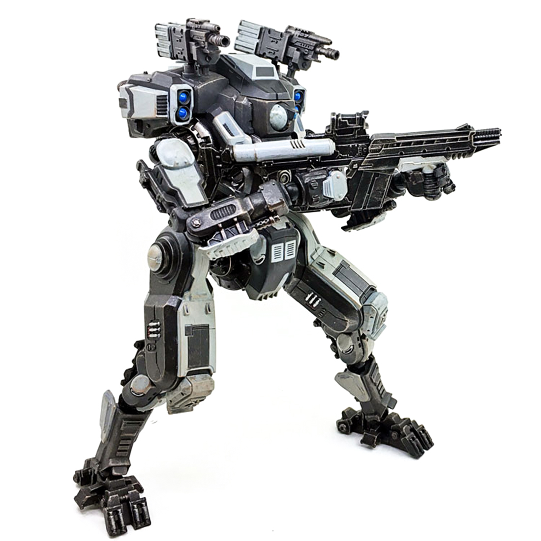 1/6 Scale Movable Mecha Action Figure Toys New Attack DIY 3D Assembly Fine Soldier Model Birthday Gift Present for Mech Fans