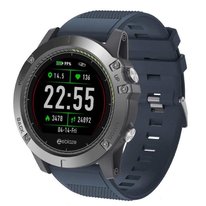 Zeblaze VIBE 3 HR 1.22 Inch IPS Color Display Smart Watch Bracelet Waterproof Heart Rate Monitor Smartwatch Men For Android IOS