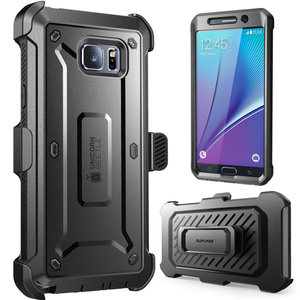 Image 2 - For Galaxy Note 5 Case 5.7 inch SUPCASE UB Pro Full Body Rugged Holster Cover with Built in Screen Protector For Samsung Note 5