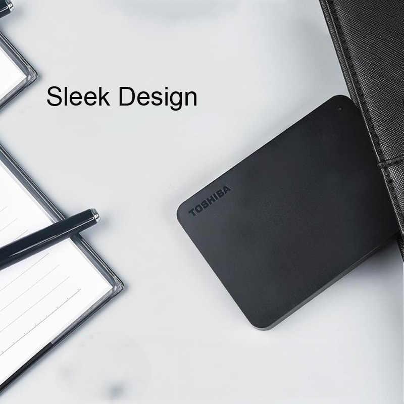 """TOSHIBA 500 GB Ổ Đĩa Cứng Gắn Ngoài HDD HD Xách Tay Thiết Bị Lưu Trữ CANVIO BASICS USB 3.0 SATA 2.5 """"cho máy tính Máy Tính Xách Tay PS4"""