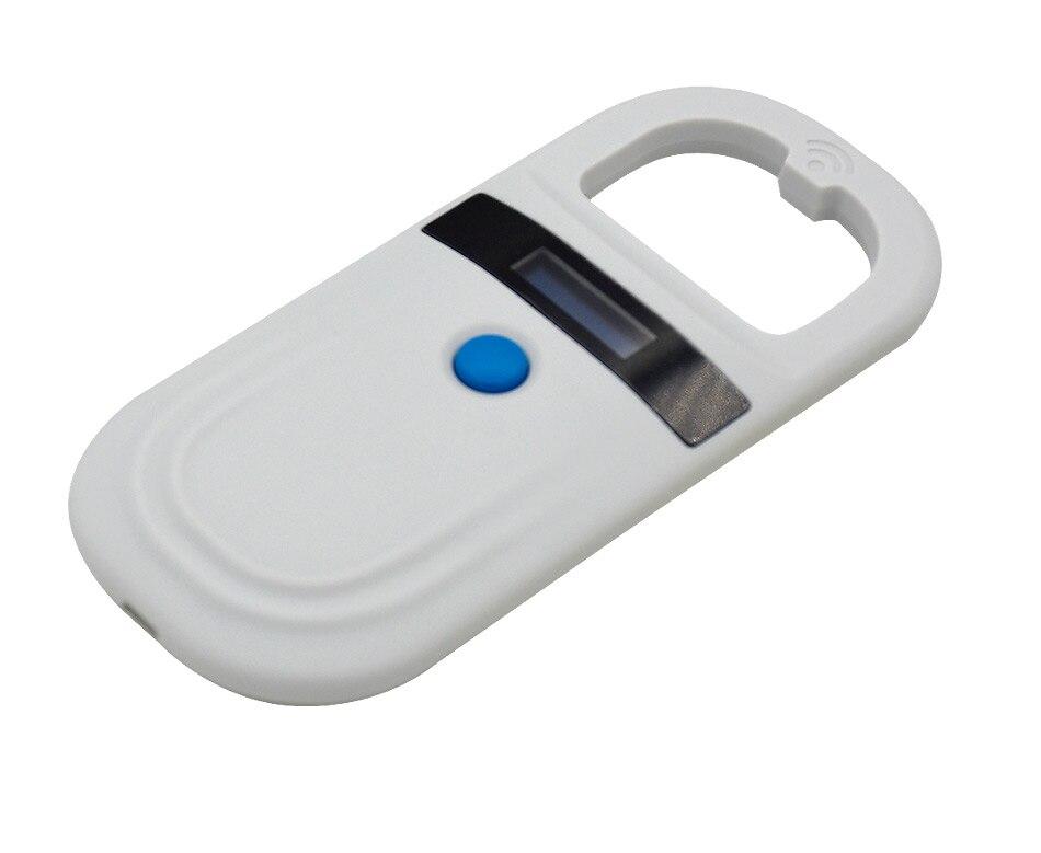 READELL livraison gratuite CE, Rohs ISO11784/5 FDX-B EMID pet RFID lecteur vétérinaire microchip scanner pour clinique animale avec stockage de données