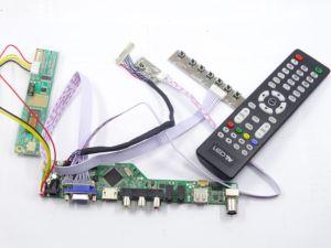 Image 2 - TV HDMI AV VGA USB TV56 LCD LED sürücü Kontrol kurulu kiti Kart DIY LTN160AT01 Için 1366X768 Paneli ekran