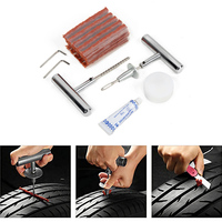 Tire Repair Kit Car Motorcycle Repairing Tools Set With Storage Box Hand Tool Sets For Different Motorcycles Electric Vehicles