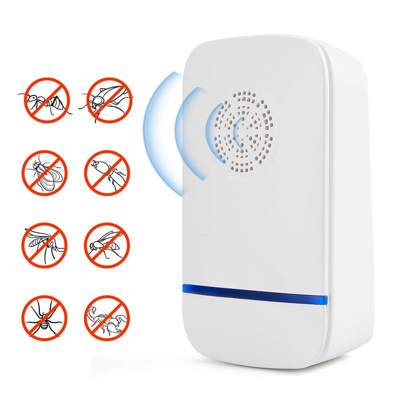 Ultrasonic Pest Repeller Control Bed Bugs Fleas Ants Spiders Rats Mice Rodents Hot New Ultrasonic Pest Repeller Away From Mouse