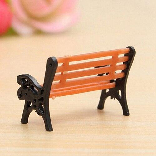 Miraculous Hot Price Mini Garden Ornament Miniature Park Bench Craft Camellatalisay Diy Chair Ideas Camellatalisaycom