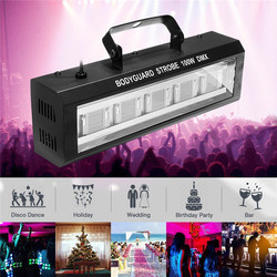 40/60/80/100W DMX512 LED Strobe Stage Flashing Lighting  Bar Disco DJ KTV Sound Activated Lamp Stage Effect Lighting US Plug