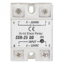 SSR-25 DD 25A 5-220VDC Solid State Relay For Industrial Automation Process 6-12mA Solid State Relay New Arrival недорого