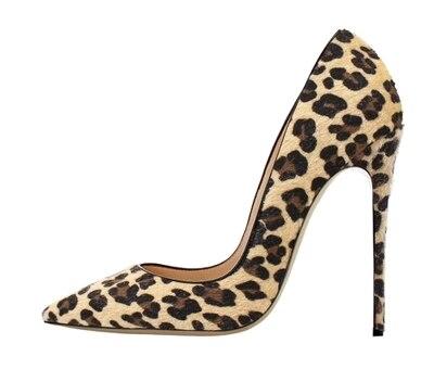 Spillo color Sexy color Leopardo 1 Sottili 4 Zapatos Crine Pompe Celebrity 3 5 color Color Femminili Primavera Vernice 12 Tacchi color Centimetri A In Pelle Punta Di Alti 2 8qIqgrnp