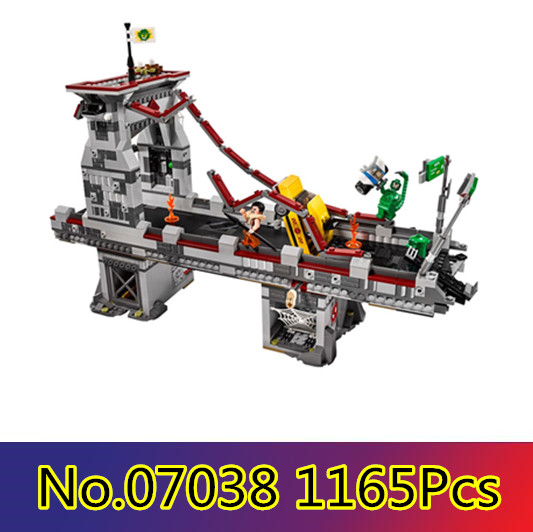 CX Compatible legoe marvel 76057 07038 super héros Spiderman Web guerrier pont bataille jouets pour enfants blocs de construction