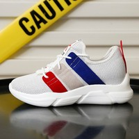 Women Shoes Summer Running Shoes High Top Lace up Mesh Tennis Shoes Woman Boots Mixed Printing Platform Shoes Female Footwear