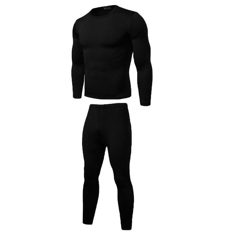 T Shirt  Set Mens Long Johns Thermal  Underwear  Bottom  Top  Trousers