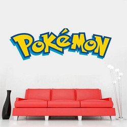 Removable Saying Pokemon Vinyl Aufkleber DIY Wandsticker Words Art