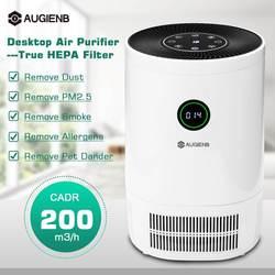 AUGIENB 2019 Nieuwe Luchtreiniger Ionisator Met HEPA Filter Verwijder Geur Roker Stof Wassen Lucht Voor Thuis Kamer Luchtfilter filter
