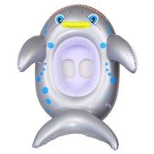 Надувные игрушки для бассейна поплавок Дети Малыш водный спорт LemonBest плавать сиденье лодка игрушечные акулы Лето ребенок экологически