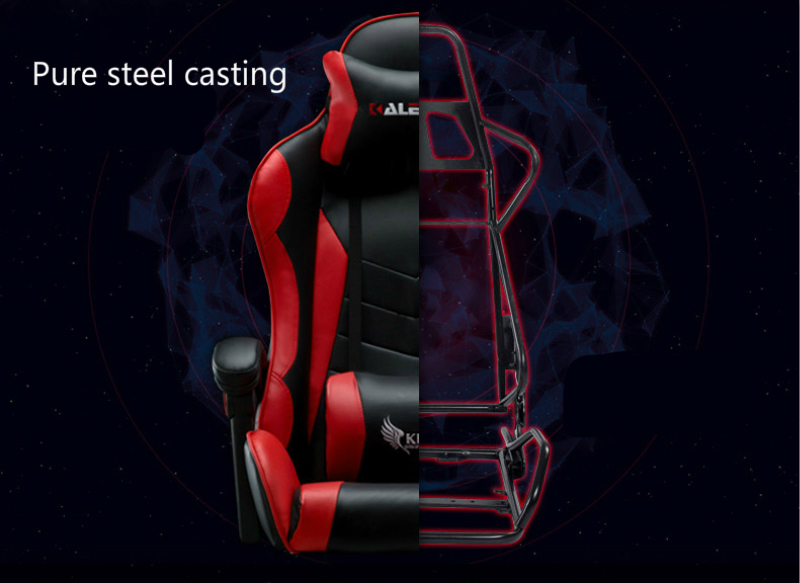 Купить с кэшбэком Multi-function Office Chair Household Reclining Massage Computer Chair with Footrest Lifted and Rotation E-sports Gaming Chair