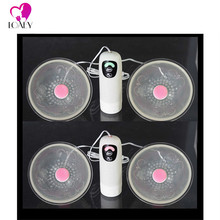 loaey 7 stimulating patterns Spinning Nipple Stimulators, Vibrating breast massage device, Adult toys for female