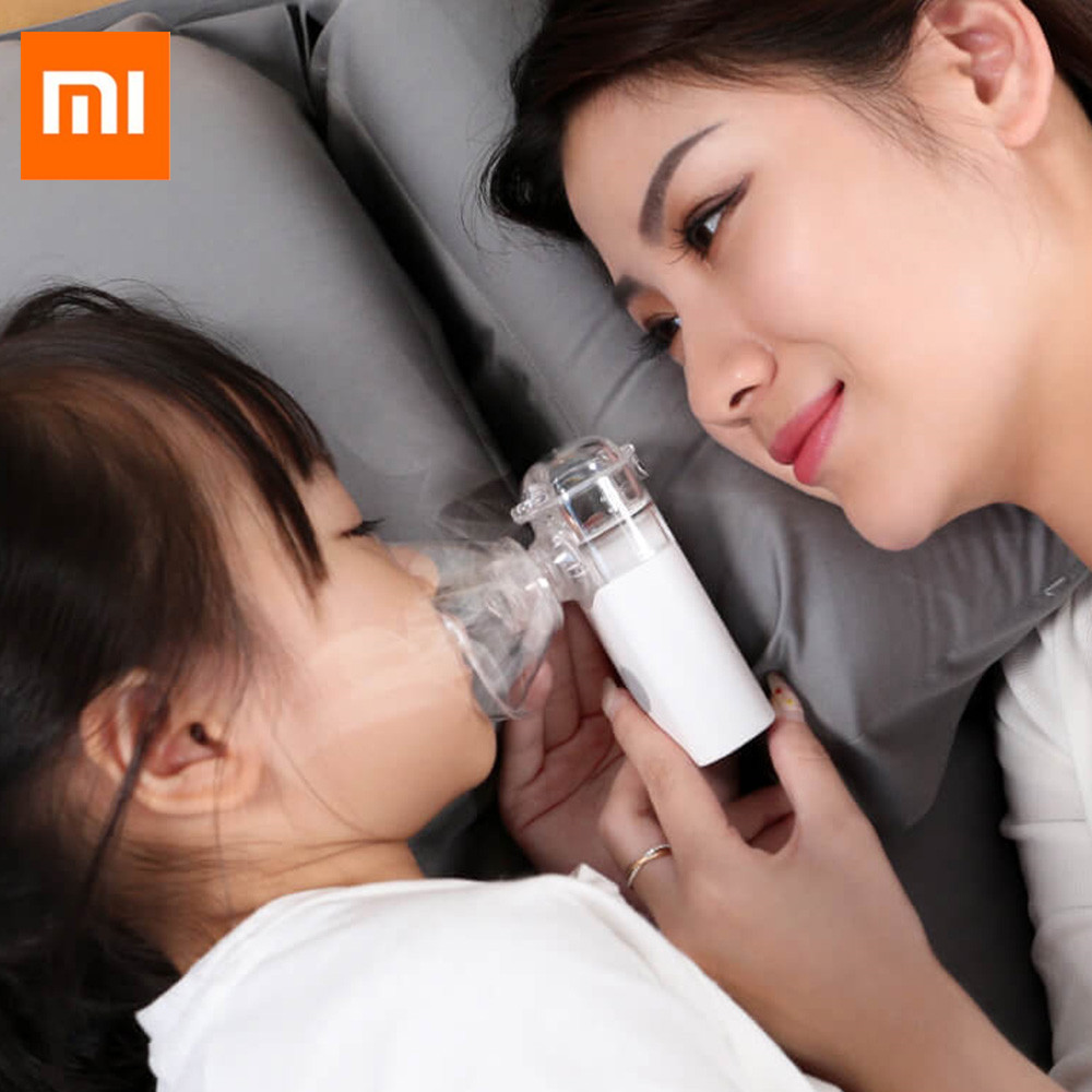 Xiaom Mijia Andon Portable Micro-atomizer Nebulizer Mini Handheld Inhaler Respirator for Children and Adult for All MedicalXiaom Mijia Andon Portable Micro-atomizer Nebulizer Mini Handheld Inhaler Respirator for Children and Adult for All Medical