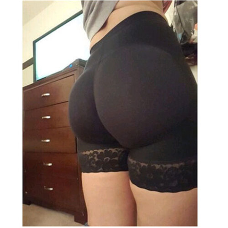 Hot Selling Lace Panties Women Padded Bum Hip Enhancer Shaper Butt Lifter High Waist Boyshort Underwear Intimates