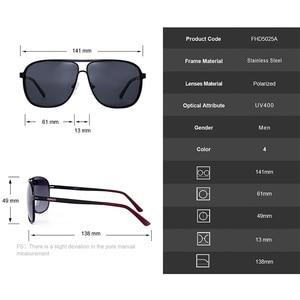 Image 5 - MATIC High Polarized Lenses Vintage Aviation Sunglasses For Mens Drivers Square Gold Metal Frame Sun Glasses Male uv400 Eyewear