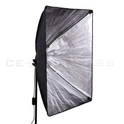 מס חינם לרוסיה 110-240v צילום 4 יח ' 50*70 סנטימטר תאורה רציפה Softbox עם 2pcs לעמוד באור לא כולל נורות